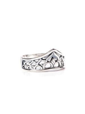 Anel bali em prata 950